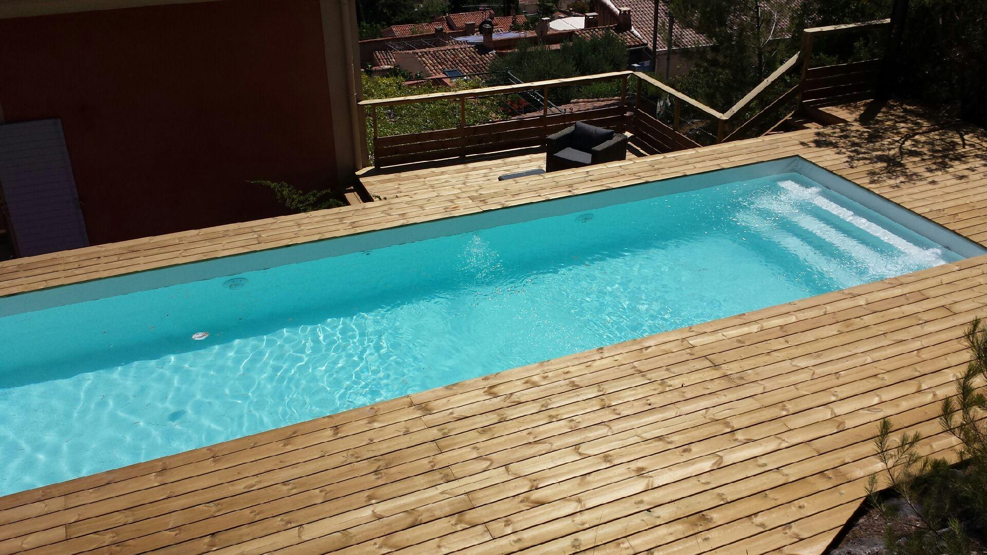 La piscine bois - Piscine bois octogonale lyon ...