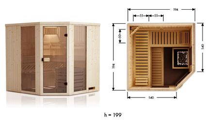 Vente de sauna traditionnel finlandais ou infrarouge - Sauna infrarouge ou traditionnel ...
