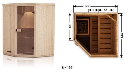 Vente de sauna traditionnel finlandais ou infrarouge - Sauna traditionnel ou infrarouge ...